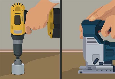 How To Drill A Hole In Cabinetry