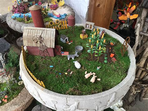 Fairy Gardens In Containers - miniature and fairy garden supplies c n smith farm