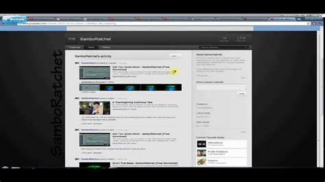 old youtube layout 2011 new youtube layout 2011 2012 custom background tutorial