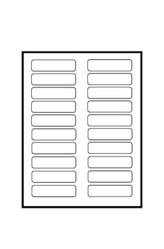 Avery 174 Tabbed Bookmark Plastic Dividers 5 Tab 24910 Template Avery Divider Templates
