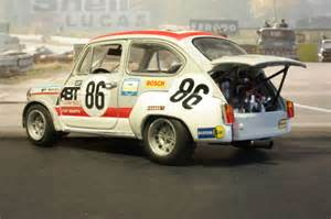 Abarth 1000 Tcr Fiat 1000 Tcr Abarth Modelcar Customized 1 18 In Racing