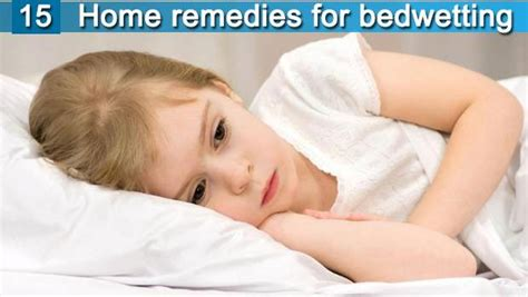15 home remedies for bedwetting for toddlers
