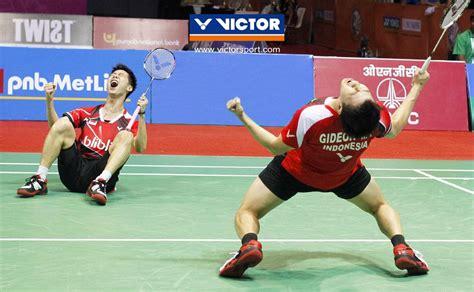 Raket Yonex Kevin Sanjaya spirited goh kevin markus set new heights victor badminton global