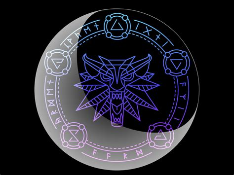 the symbol wallpapers on witcher damnation deviantart