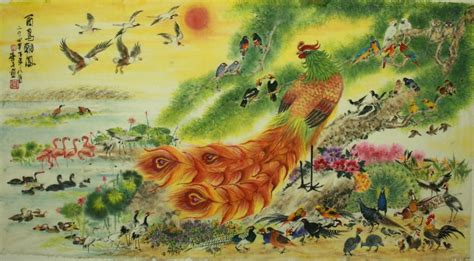 feng shui painting simon chan s art chinese brush paintings from malaysia