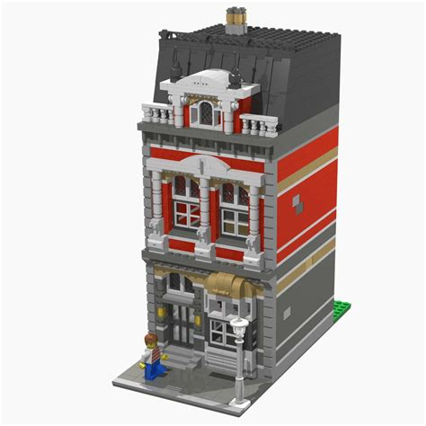 Brick Town Talk: House   LEGO Town, Architecture, Building