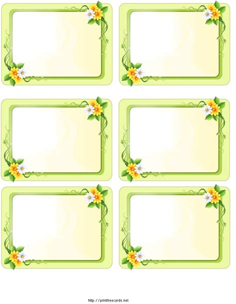 printable name tags blank 9 best images of printable holiday name tags free