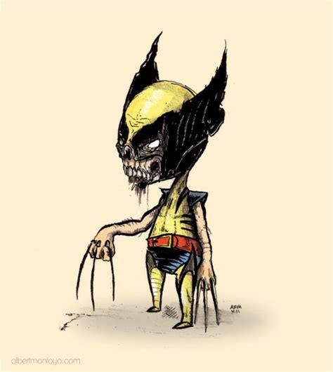 imagenes wolverine dibujos animados icachondeo 187 zombies animados