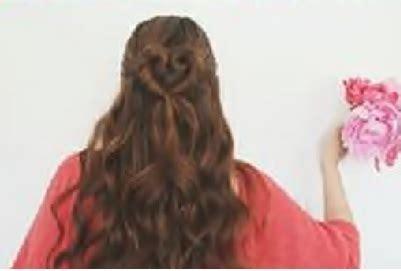 Tutorial Sanggul Unik | tutorial rambut wanita gaya sanggul hati unik dan sederhana
