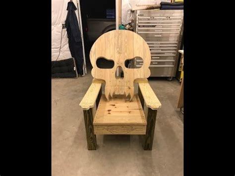 skull chair   youtube
