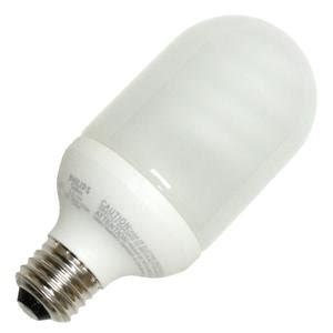 Outdoor Cfl Light Bulbs Philips 152895 El O Outdoor Post 14w Bullet Base Compact Fluorescent Light Bulb