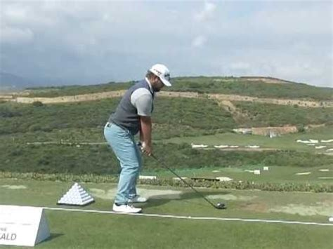 ryan moore swing ryan moore golf swing fairway wood down the line