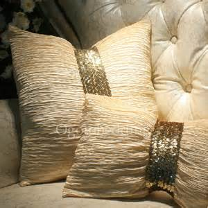 3d Bed Comforters Gold Sequin Luxury Modern Decorative Pillows On Sale