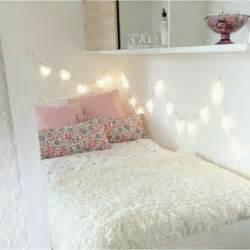 lighting ideas teens bedroom fairy lights interior room decor teen room tumblr white