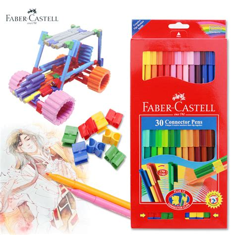 Faber Castell Conector Pen 60 Buku Mewarnai Colouring For Relaxation faber castell 30 colors creative colorful crayons