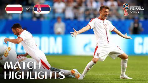 costa rica vs serbia fifa world cup russia 2018 match