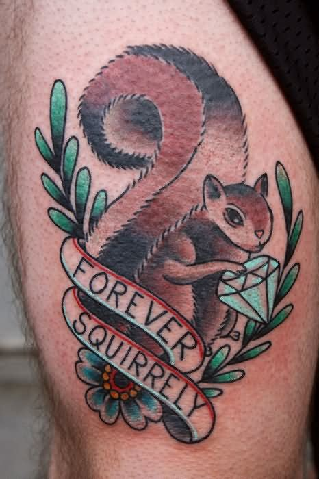 squirrel tattoos 12 squirrel images and pictures gallery