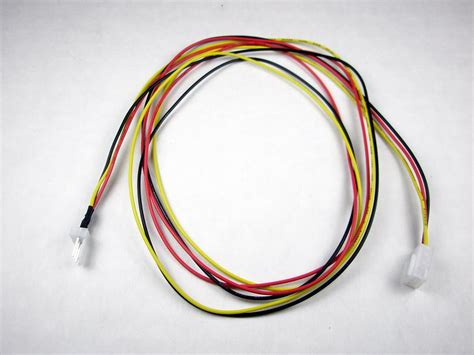 3 pin fan extension cable 18 quot 3 pin fan power extension cable