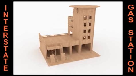gas station wood toy plans cnc router laser cut youtube