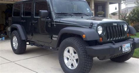 Jeep Wrangler Stock Wheel Size My Jeep Wrangler Jk Largest Tires Can Fit On Stock Jk