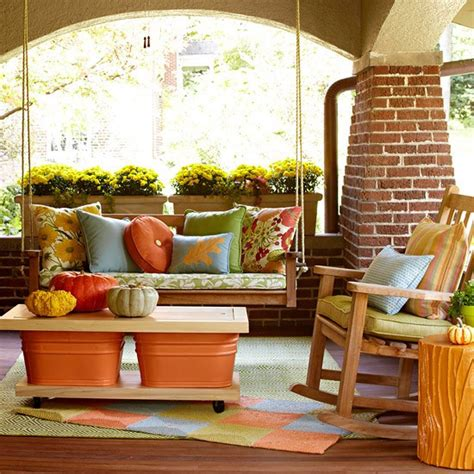 how to decorate your porch for fall picture of fall front porch decorating ideas