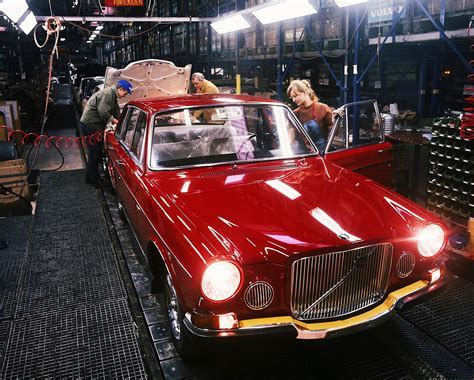 volvo assembly line volvo 164 assembly line halifax scotia 1971