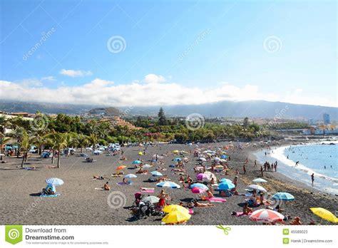 windguru spain puerto de la cruz tenerife beach editorial stock photo image 45589023
