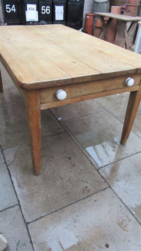 Antique Victorian Pine Farmhouse Dining Table Antiques Atlas Antique Farmhouse Dining Table