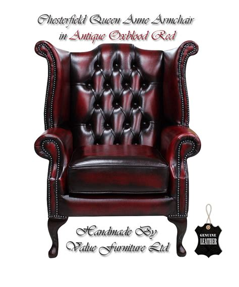 ebay chesterfield armchair chesterfield traditional london queen anne high back