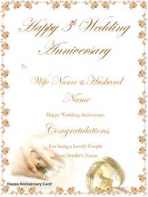 happy anniversary cards page word excel pdf