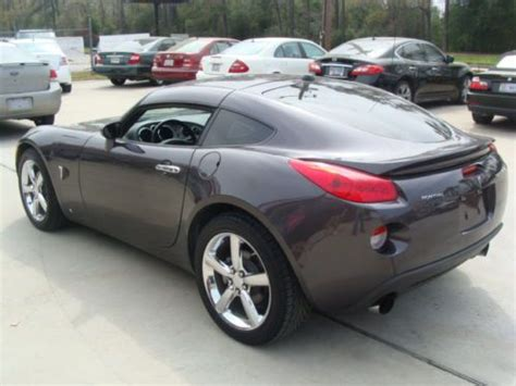 pontiac solstice 2010 sell used 2010 pontiac solstice gxp coupe 1 of