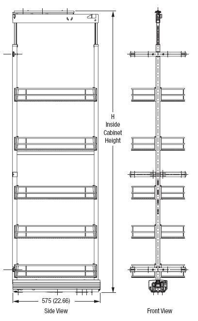 pantry cabinet pull out system pin by lise lefebvre on the technical choices pinterest