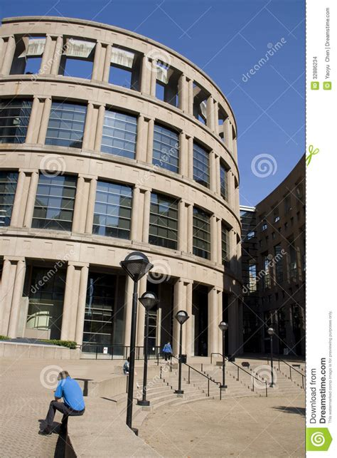 architecure modern times and modern architecture at vancouver library bc editorial stock image image 32886234