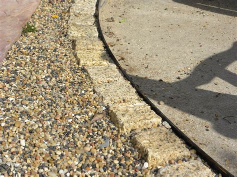 decomposed granite patios and walkways the human footprint