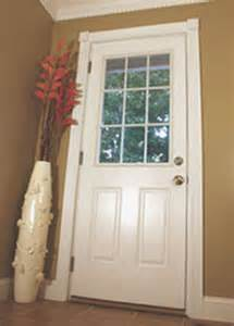 Exterior Back Doors Installing A New Exterior Door How To