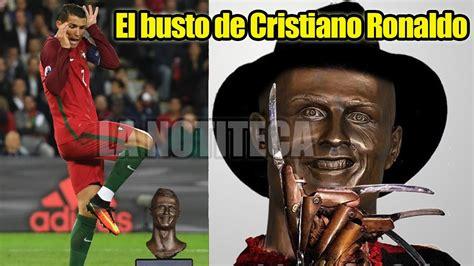 Memes De Cristiano Ronaldo - los memes del busto de cristiano ronaldo los mejores