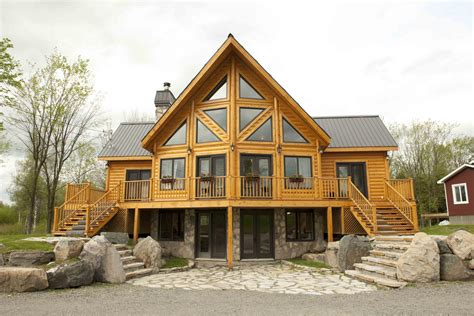 timber block insulated log homes exceeds the building