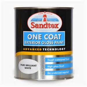 gloss paint sandtex 174 one coat exterior gloss paint