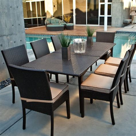 modern patio dining set best 25 modern outdoor dining sets ideas on