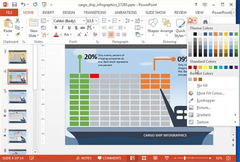 layout animation exle animated cargo ship powerpoint template powerpoint