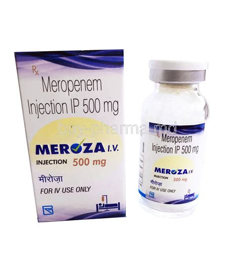 Cto Anti Bacterial With Perak Injection meropenem buy meropenem meropenem injection