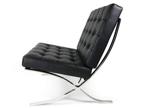 chaise barcelona noir