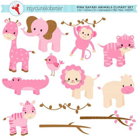 Safitri Pink pink baby safari animals www imgkid the image kid