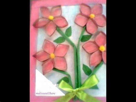 imagenes de flores con tubos de papel bao flores con tubo de papel higienico recicl 225 je