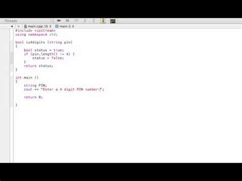 Boolean function example (C++ programming tutorial) - YouTube C- Boolean Function Examples