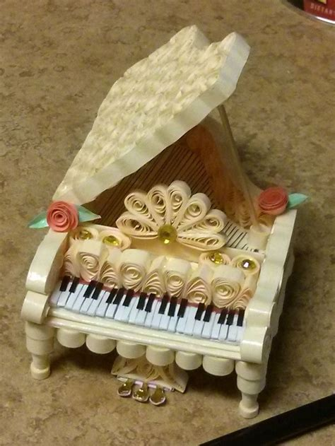 Paper Quilling Piano Tutorial | 278 best images about quilling musical notes