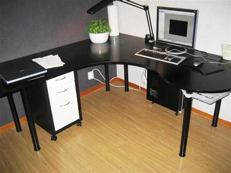 Small Black Corner Computer Desk Small Black Corner Computer Desk Black Corner Computer Desk Home Design