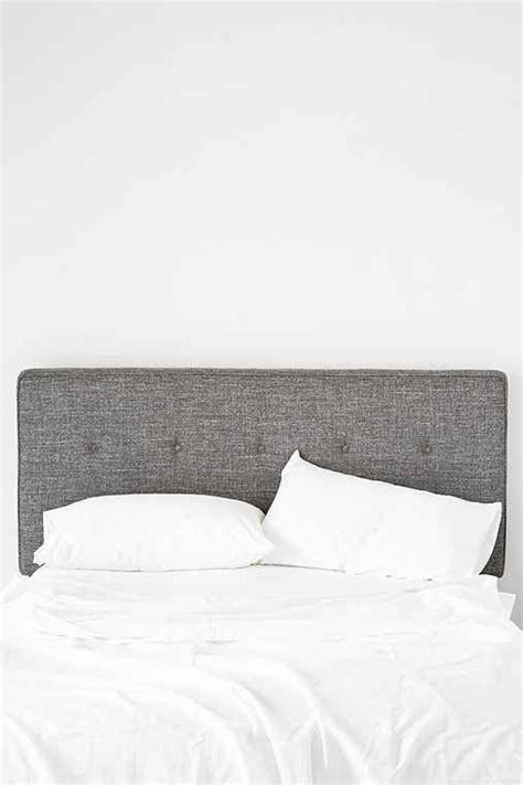 1000 ideas about grey upholstered headboards on