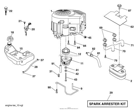 husqvarna yth      parts diagram