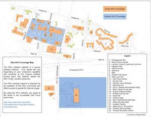 Plymouth State University Map by Network Amp Wireless Information Technology Services